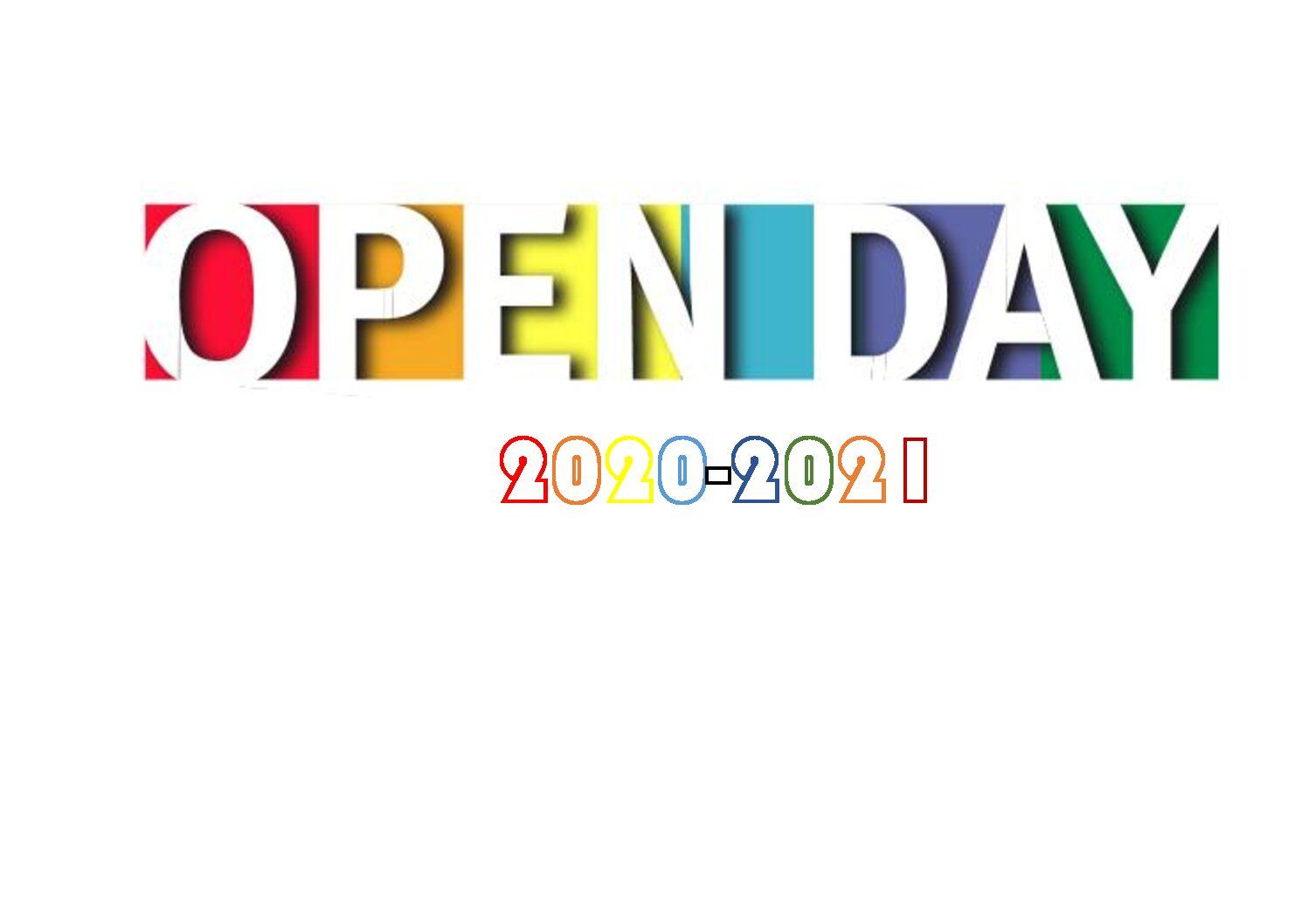 Immagine articolo:Open Day 2020 materiale informativo